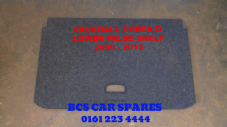 VAUXHALL CORSA D  FALSE  SHELF LOWER     2009 - 2013  USED   BLACK